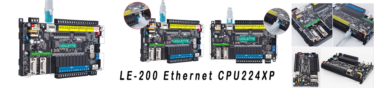 LE-200 Ethernet CPU224XP and Extension Module