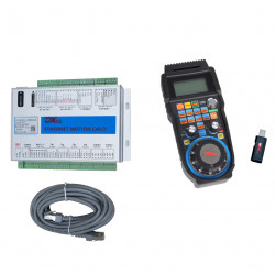 xhc 4 Axis Mach3 Ethernet cnc Control card and Wireless cnc remote