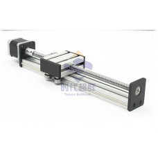 Ball screw CNC sliding table sfu1605 ballscrew + stepper motor linear modules linear guide effective stroke 100-1500mm