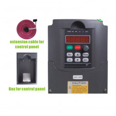 2.2KW 220V frequency drive inverter HY02D223B(extension cable + box)