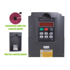 2.2KW 380V frequency drive inverter HY02D243B (extension cable + box)