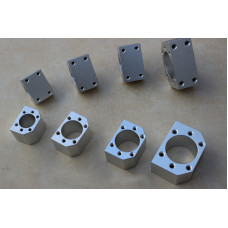 3pcs ballscrew nut housings nut brackets RM1605,1610 nuts