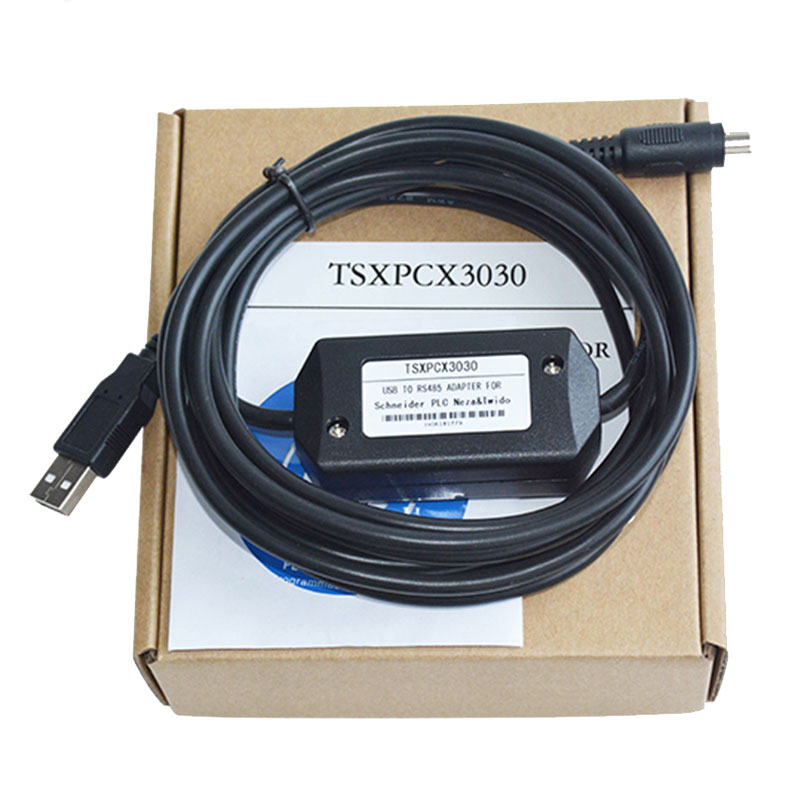 TSXPCX3030-C PLC Programming Cable for Schneider Modicon TSX/neza