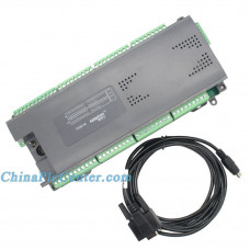 EC2N 56MR/56MT 28 input 28 output 2 analog input 2 analog output RS485 plc controller