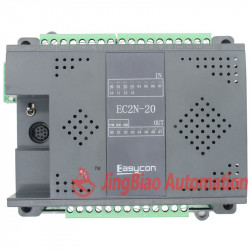 EC2N 20MT/MR 12input 8output  with speed pulse 100K plc controller‎