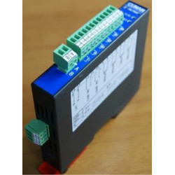 CAR-6AD-A Isolated 6 channel input current acquisition module