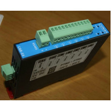 CAR-6PT Isolated 6-channel PT100 acquisition module