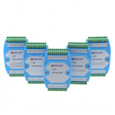 Multi-channel temperature acquisition module DS18B20 temperature acquisition transmitter can be connected PLC
