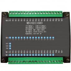 16DI/16RO 16 Road digital isolation input 16 Road relay output module data acquisition control Board RS485 Modbus