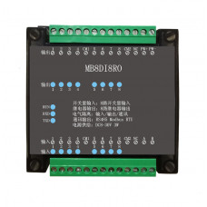 8DI/8RO 8 Road digital isolation input 8 Road relay output module data acquisition control Board RS485 Modbus