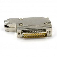 DB25 Plug Connector Parallel Printer Plug 45 Degrees