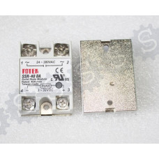 Solid state relay dc 40 ssr 40A solid state relay single-phase input 3-32V DC output 24-380V AC