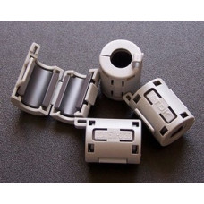 TDK  Φ7mm Cable Clamp Clip Noise Filters Ferrite Core Case