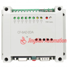 CF2N-6AD2DA for CF2N PLC 6 analog input 2 analog output