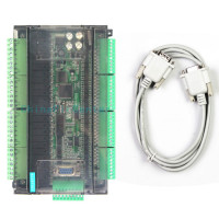LE3U 56MR6AD2DA 32 input 24 relay output 6 analog input  2 analog output plc controller‎ RS485 MODBUS RTU RTC (real time clock)