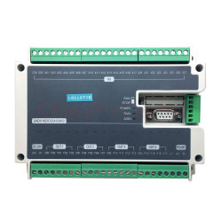 LE3U 40MT 24DI 16DO 2AD 2DA RS485 4 Axis High-Speed Pulse 100KHz Output