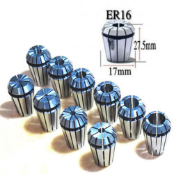 ER16 10Pcs Spring Collet Set CNC Milling Lathe Tool Engraving Machine