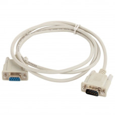 Male to female M/F Serial DB9P Pin RS232 PC Converter Extension Cable 1.3M
