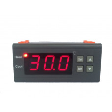 1210B Digital Thermostat Temperature Controller 10A Thermocouple 0.1C accuracy -40~120Celsius Degree with High and low temperature alarm