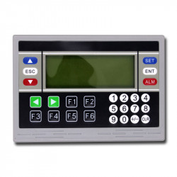 PLC & HMI OP320-A Text Display, 10DI 8DO 18MT/R transistor/relay output with rs485