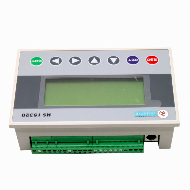 PLC & HMI OP320-A Text Display, 10DI 8DO 18MR relay output