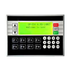 PLC&HMI LE-OP330 OP330 operate panel 10DI/8DO Transistors/Relay